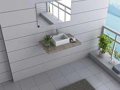 Lovely Design Badm bel Set AUSTRALIA Waschtisch mit Waschbecken Canberra cm breit Dekore zur Wahl