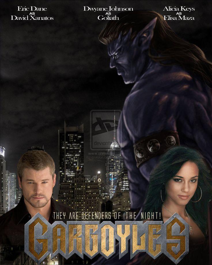 Disney+Gargoyles+Movie   Gargoyles Gargoyles fan-made movie poster