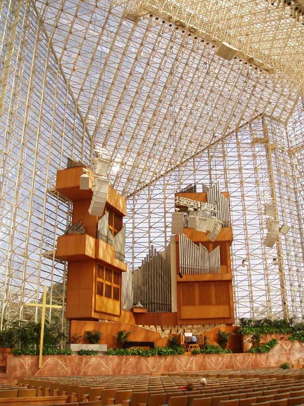 Crystal Cathedral, Garden Grove, Los Angeles, California 1980  Philip Johnson with John Burgee