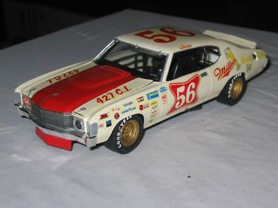 MPC NASCAR Jim Hurtubise Chevelle PARTS CAR | #135854327