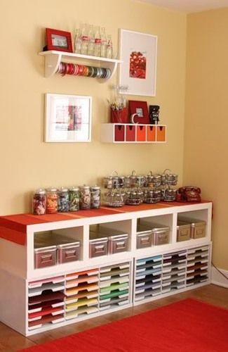 inspiration for a craft center.