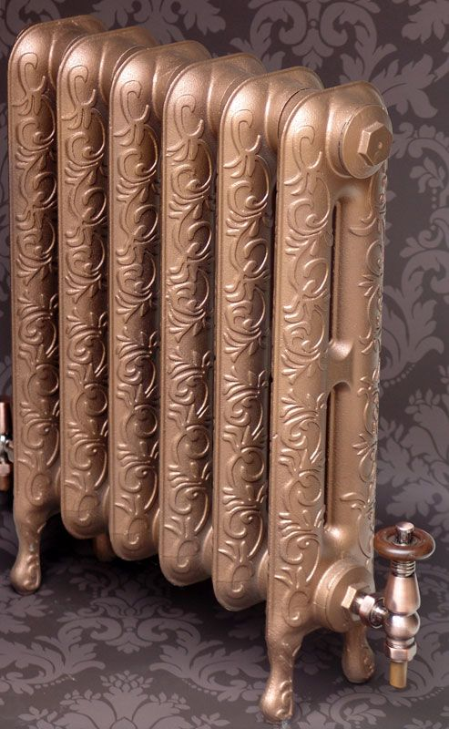 Viscount cast iron radiator now available in new height 580mm. Call Simply Radiators for more info.