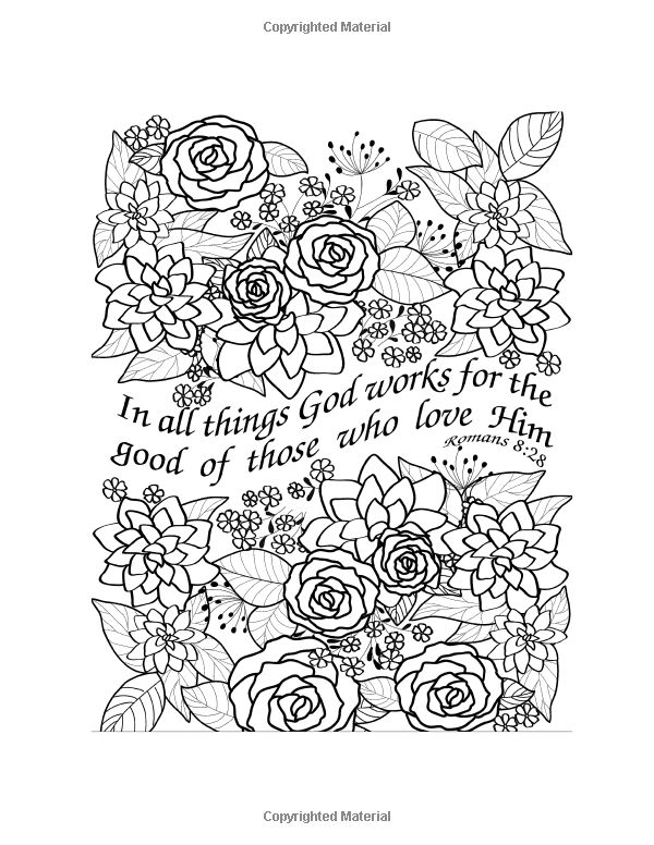 Amazon Beauty And Scripture Floral Designs 9780977914920 Spiritual Coloring