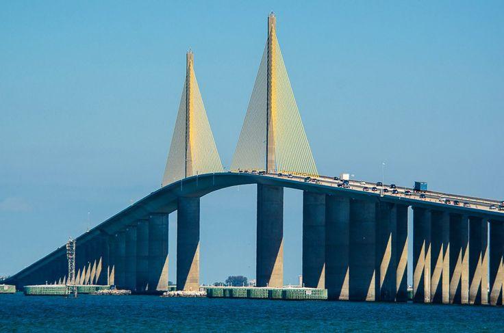 Sunshine Skyway Bridge | Florida's Sunshine Skyway Bridge. photo by Fifth World Art on Flickr