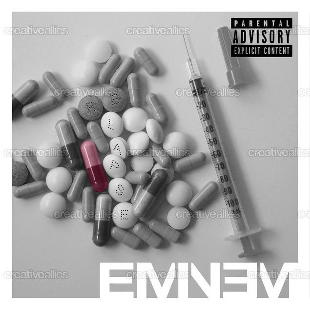 Eminem Album Cover by Yiotu on CreativeAllies.com