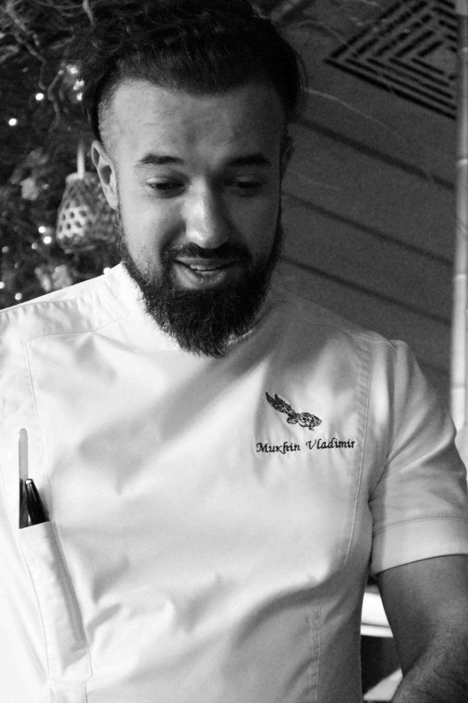 Chef Vladimir Mukhin from Russia