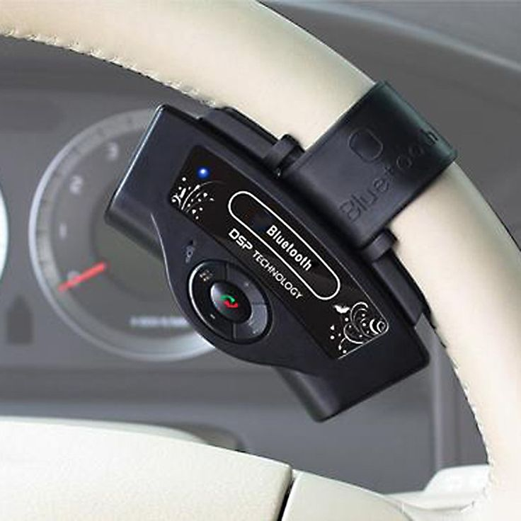 Bluetooth Car Kit - Portable Parrot Steering Wheel Hands free For All Mobile phones
