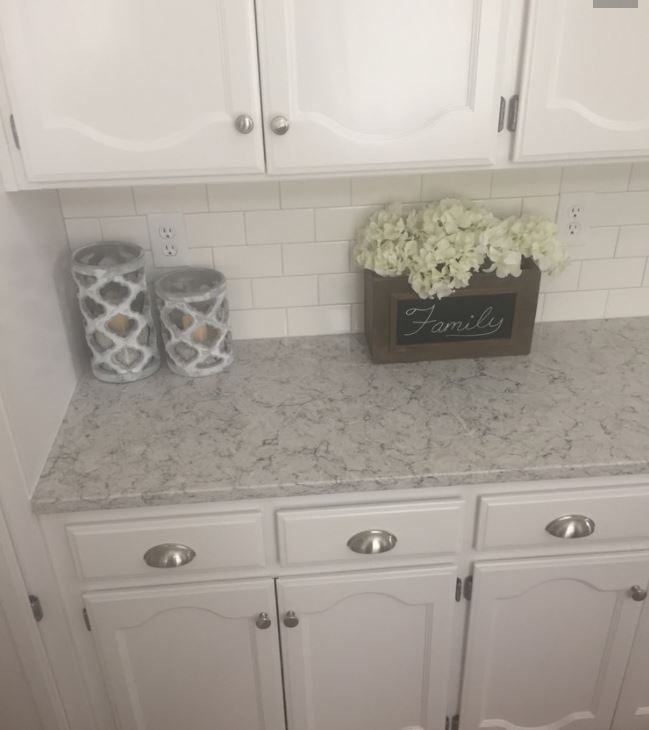 Pietra Silestone Quartz Counter With