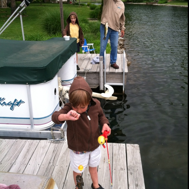 One fish two fish, red fish blue fish.  Fun in Columbus on Mother's day.