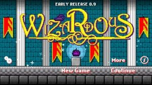 Wizardous: An Apprentice's Betrayal - This is an 8-bit story-based puzzle game that is nothing short of magical.It starts by showing the old wizard together with his trusted apprentice. The apprentice ultimately betrays the wizard and casts him into his own castle which protects the ancient magical relic, the Eternal Fire. In the game, you take on the role of the wizard and navigate your way through a variety of mazes using on-screen navigation. Click the image for our full review.