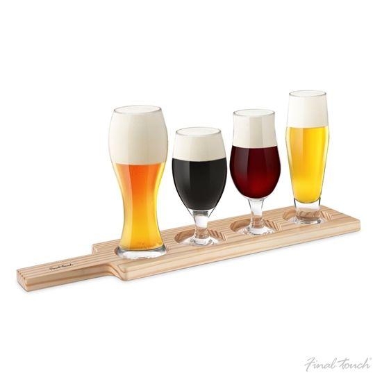 Deska Konesera Piwa wymarzony prezent dla mężczyzn, którzy kochają piwo!