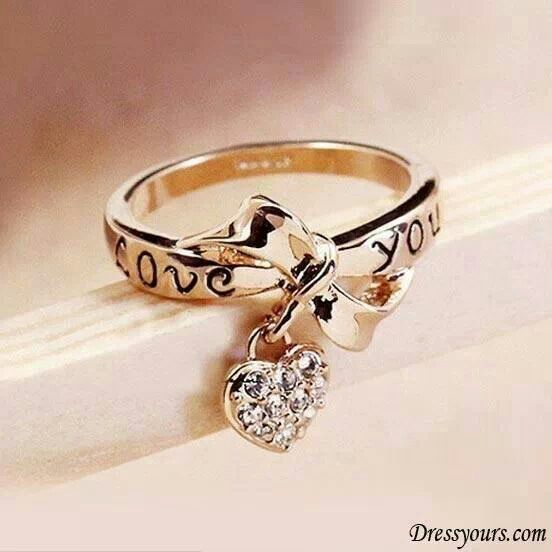 Cute Rings for Teens | Cute promise ring, or valentin gift