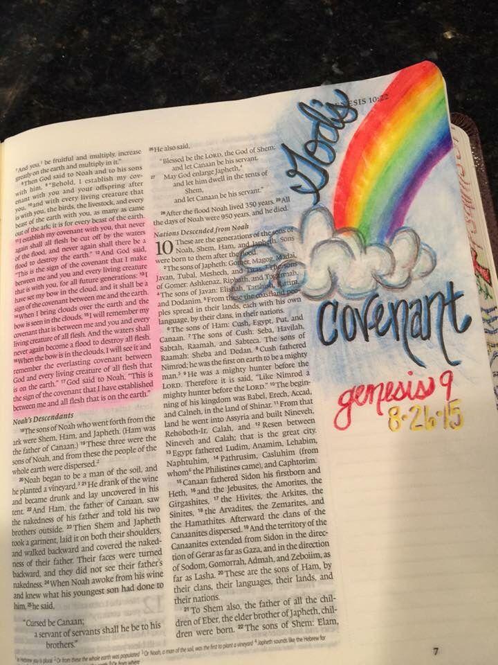 Genesis 9:13-16 God's Covenant with Noah