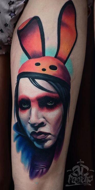Marilyn Manson Tattoo