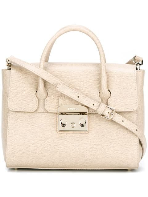FURLA Small Tote. #furla #bags #leather #hand bags #tote #