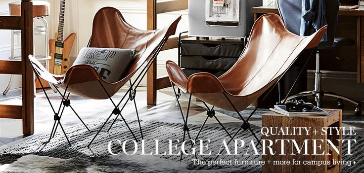 Pottery Barn Dorm can be inspiration for a stay at home college student as well, am I right or am I right?