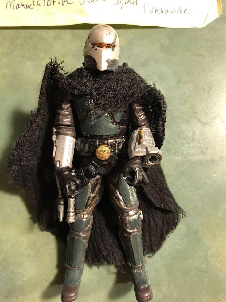 Star Wars Custom Action Figure Mandalorian Death Squad Commander