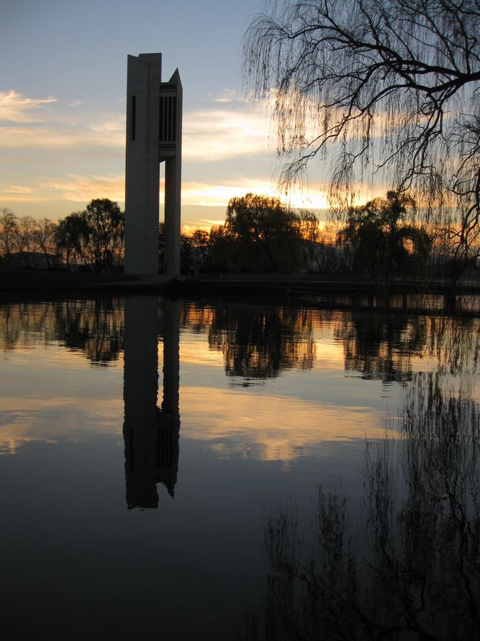 National Carillon - Canberra - Australia, too many times to put dates, but the best was newyear 2000