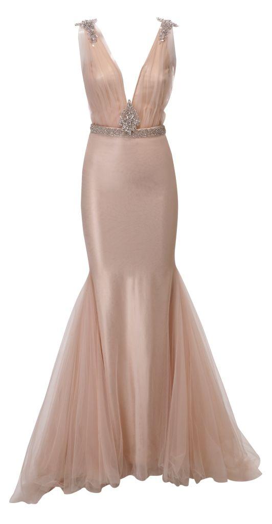 Blush Wedding Dress Petite : Blush wedding bridal dress bridesmaids zahavit