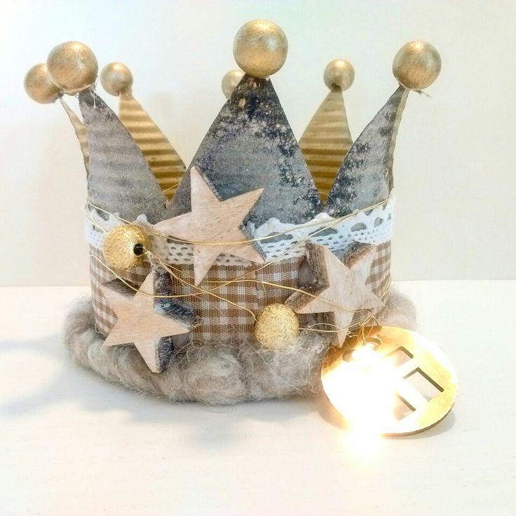 12 besten kronen bilder auf pinterest kronen blechdosen und krone basteln. Black Bedroom Furniture Sets. Home Design Ideas