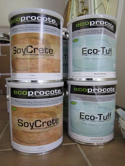 How to Stain Concrete – Acid Stain Concrete DIY