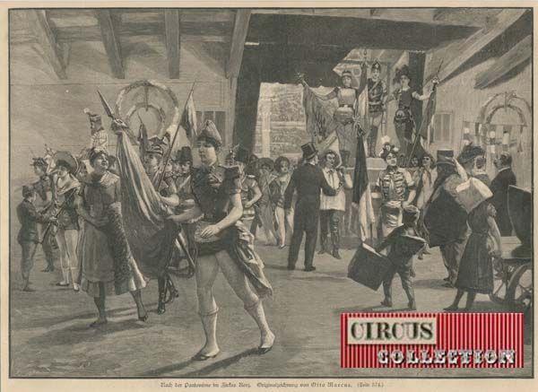 Circus collection: Zirkus Renz 1892