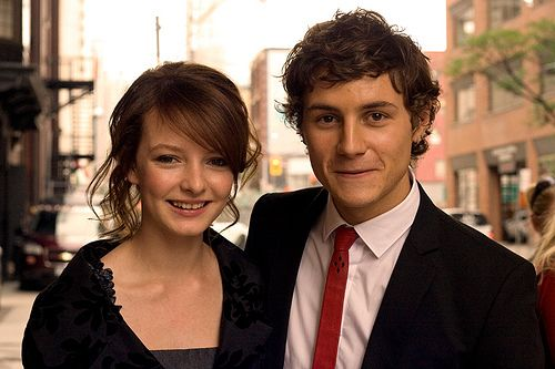 Bramble and Lord Teddie! The clothes are not quite right, though.   Dakota Blue Richards and Augustus Prew.: