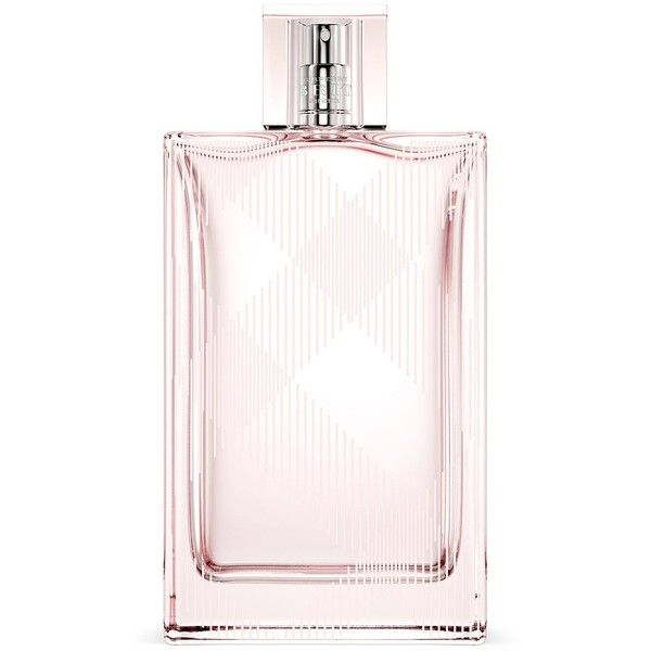 Burberry Brit Sheer Eau de Toilette - 6.76 oz. ($120) ❤ liked on Polyvore featuring beauty products, fragrance, no color, burberry perfume, burberry, eau de toilette perfume, burberry fragrance and edt perfume