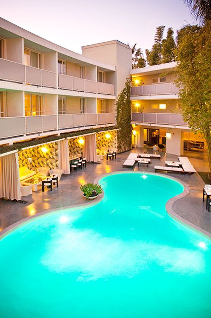 7 best i love l a images on pinterest hotel pool hotel - Best hotel swimming pools in california ...