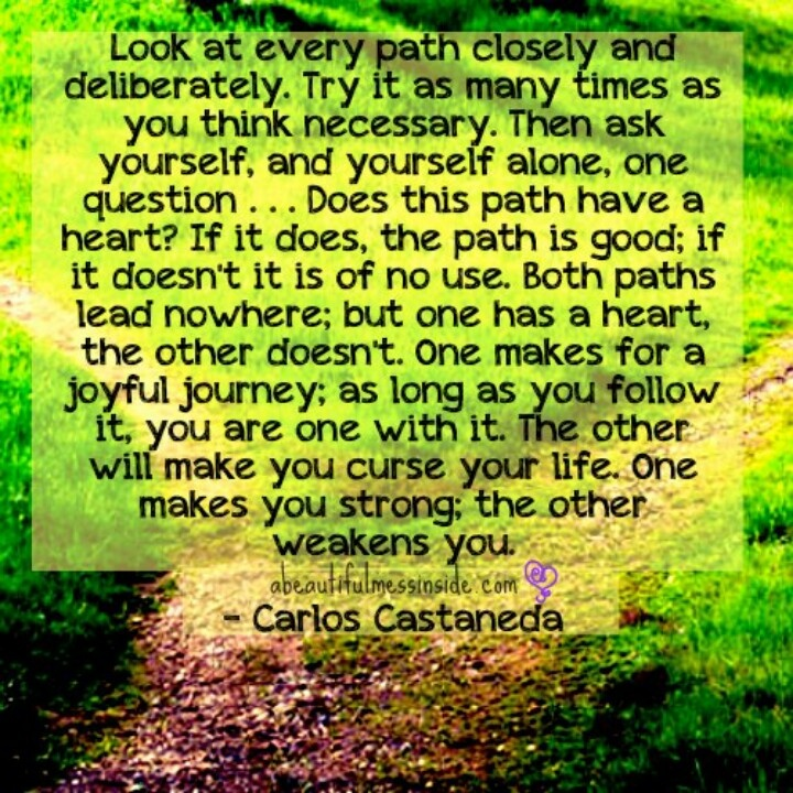 Life Path Quote: Best 25+ Carlos Castaneda Ideas On Pinterest
