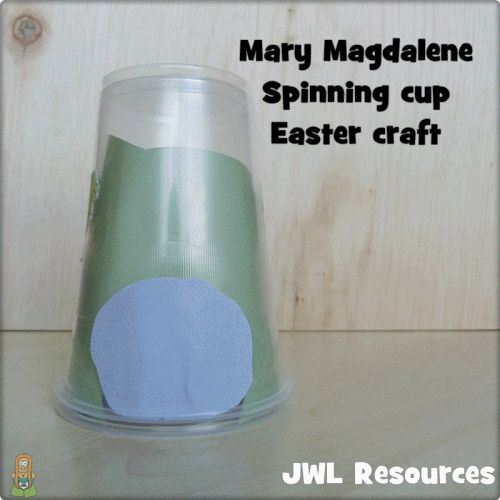 A cup tomb that spins to tell the story of Mary Magdalene #Jesuswithoutlanguage #Eastercraft