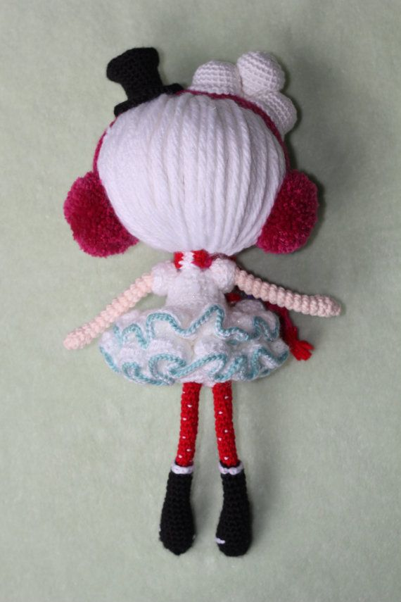 PATTERN Lalaloopsy Winter Snowflake Crochet by epickawaii on Etsy