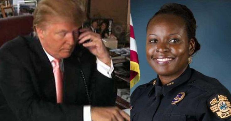 President Donald Trump Calls Husband Of Murdered Orlando Lt. Debra Clayton