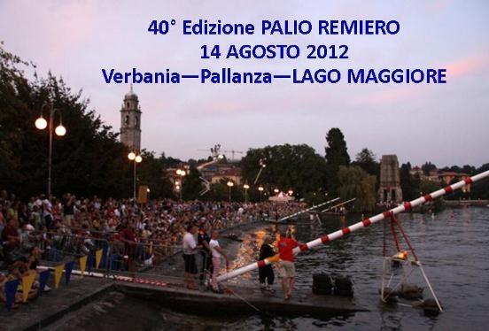 Palio Remiero – Lago Maggiore