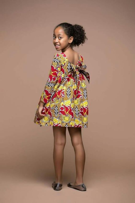 9d9dd4c011d Check Out This Latest Ankara Styles For Your Lovely Kids