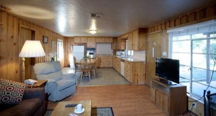 The Pines Resort, Bass Lake Rental Cabins