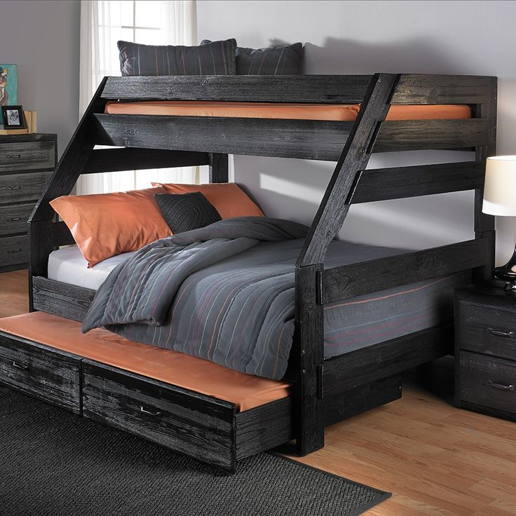 Best 25 Twin Full Bunk Bed Ideas On Pinterest: Best 25+ Bunk Bed With Trundle Ideas On Pinterest