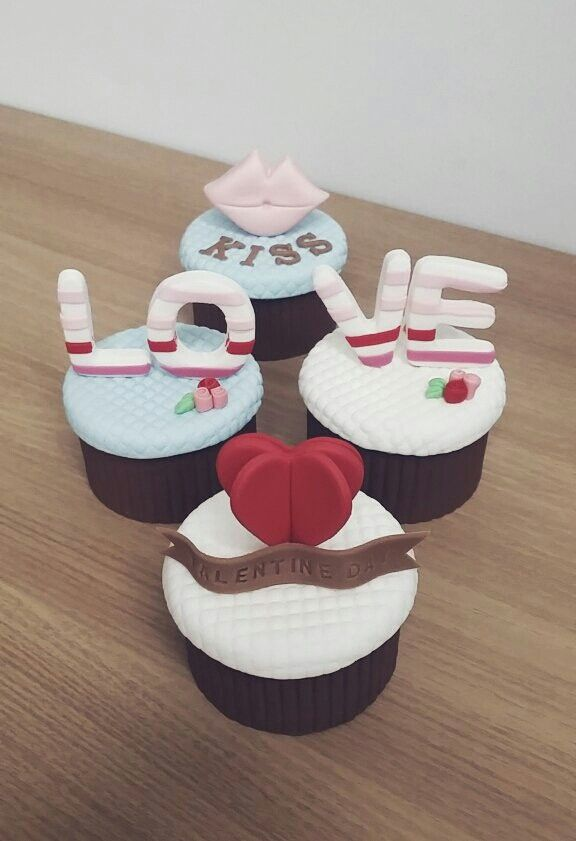 COMMA CAKE : valentine day sugarcupcake [발렌타인데이 슈가컵케익]