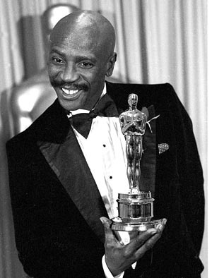 "Louis Gosset Jr. - Best Supporting Actor for ""An Officer and a Gentleman"""