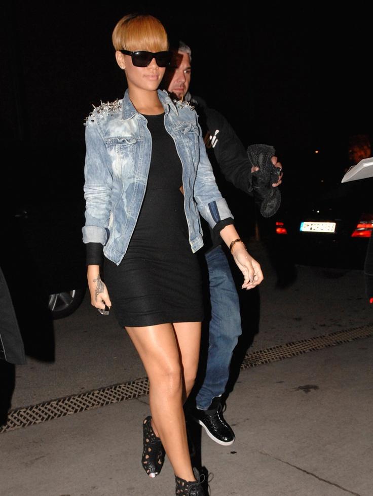 Rihanna Street Style Mi Lado Rockero Pinterest Style Rihanna And Street Styles