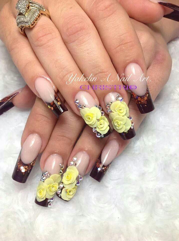 Nail art acrylic 300