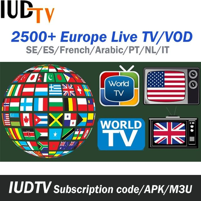 Find More Set-top Boxes Information about 1 Year IUDTV