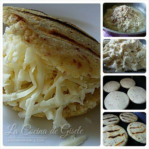 Receta: Arepas con Harina de Almendras | La Cocina de Gisele