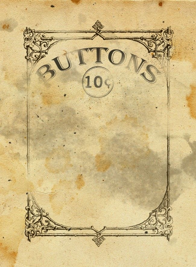 free printable button card