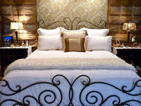 1896 best ღ❤ Iron Headboard Bed ღ❤ images on Pinterest ...