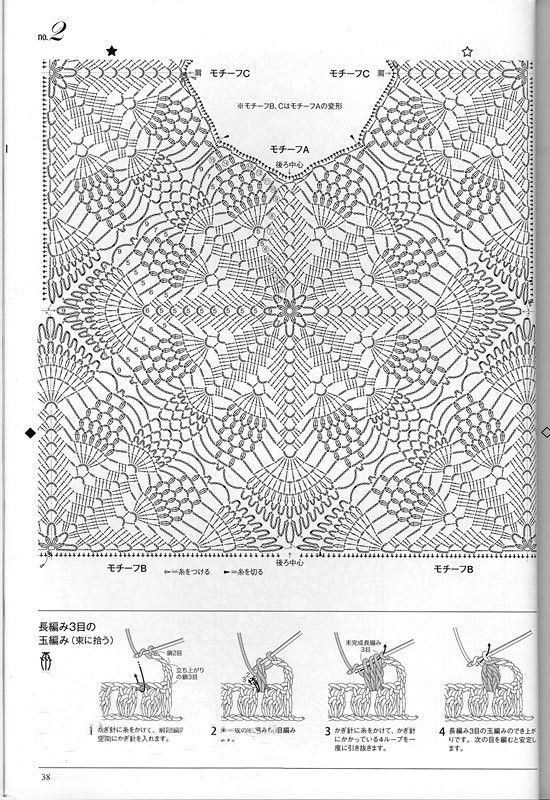 98 best dress diagrams images on pinterest crochet clothes knitting of a beautiful pineapple pattern 2013 crochet top patternscrochet diagramcrochet ccuart Choice Image