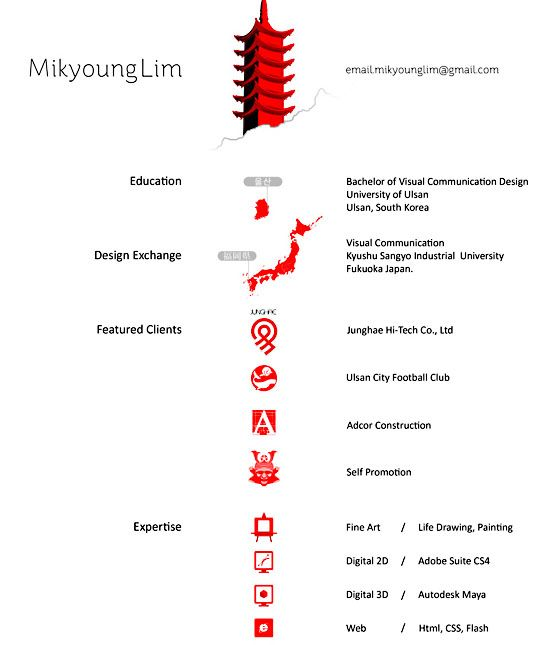 302 best Best of Visual Resumes ⌘ images on Pinterest Resume
