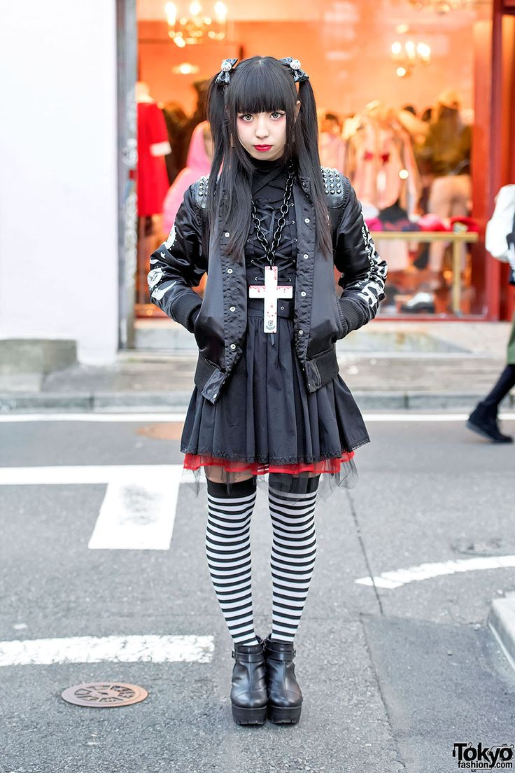 Dark Harajuku Street Fashion W Killstar Glad News