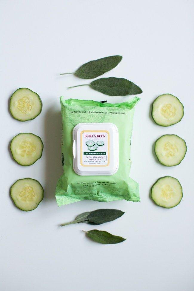 Collagen-Building Cucumber Spa Water + DIY Calming Face Mask