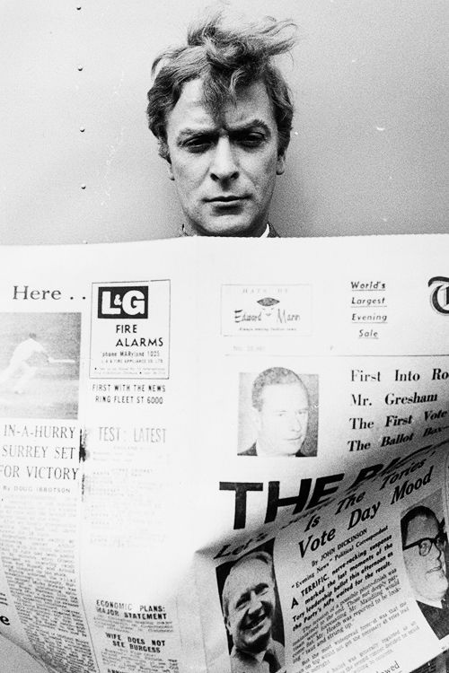 Michael Caine, 1965. #styleicon
